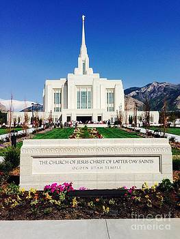 Ogden Temple 1 by Richard W Linford