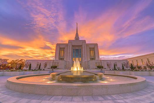 Dustin  LeFevre - Ogden Temple Sunset