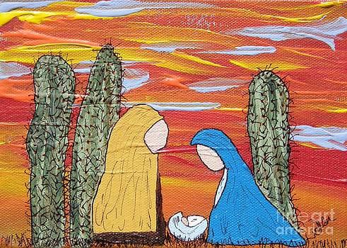 Oh Holy Desert Night by Marcia Weller-Wenbert
