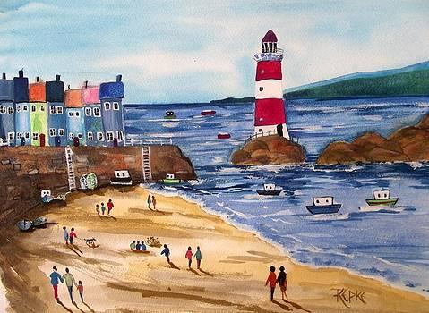 oh I do like to be beside the seaside by Trudy Kepke