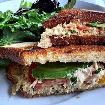 Oh That Tuna Melt Right There 🙀 Take by Vicky Hatata