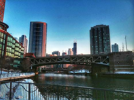 Nick Heap - Ohio Street Bridge Over Chicago River