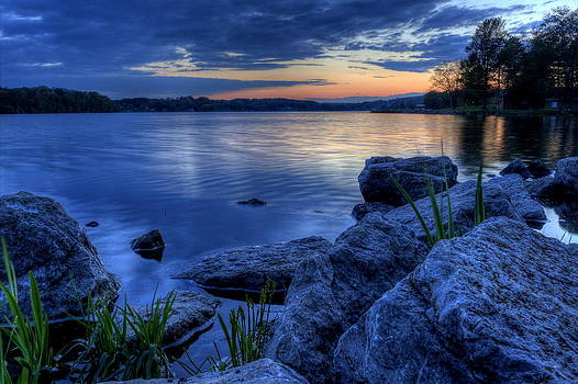 Ohio Spring Sunset by David Dufresne