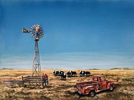 Oil Change by Laurie Tietjen