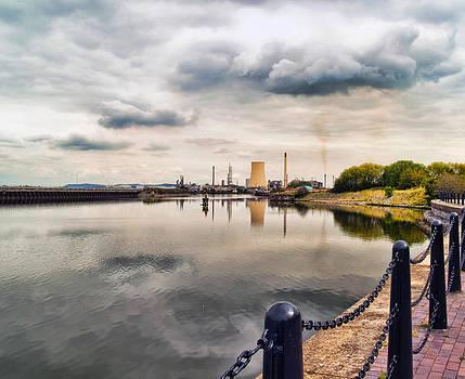 Oil Refinery by Priit Einbaum