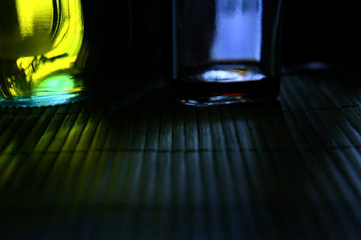 Oil Vinegar and Bamboo by Lon Casler Bixby
