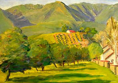 Ojai Orange Grove by Ken Shuey