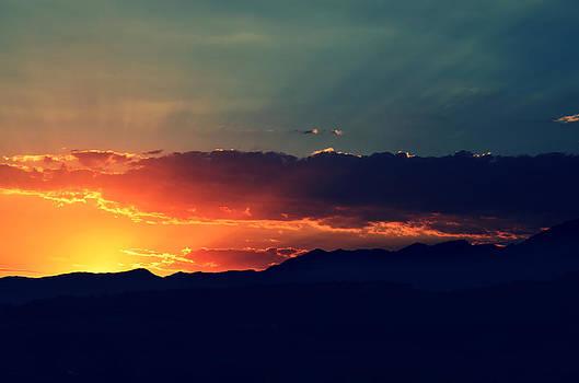 Ojai Sunset by Brooke Clark