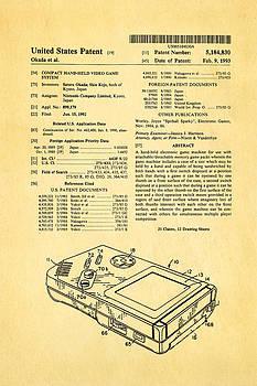 Ian Monk - Okada Nintendo Gameboy Patent Art 1993