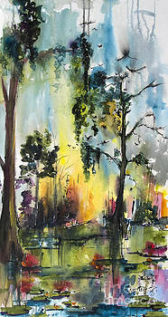 Ginette Callaway - Okefenokee Forever Wetland Sunset