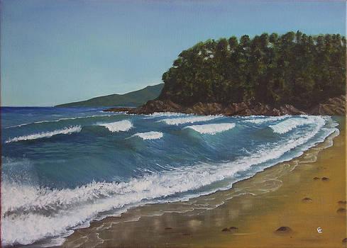 Okinohama beach by Gianluca Cremonesi