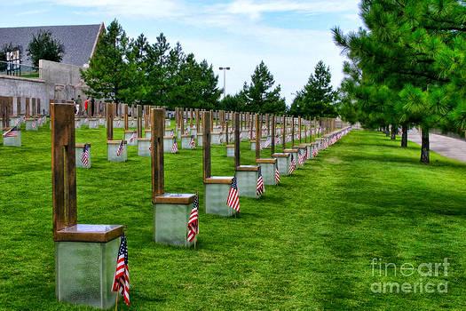 Oklahoma City Memorial by Joan Bertucci