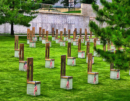Oklahoma Memorial by Joan Bertucci