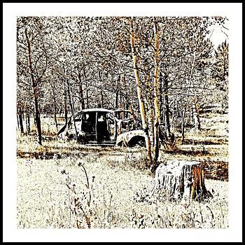 Ol Car by Barbara Henry