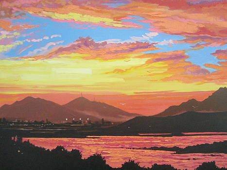 Olbia Sunset by Andrei Attila Mezei