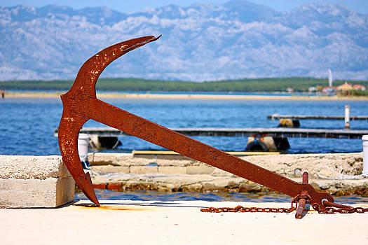 Old anchor by Borislav Marinic