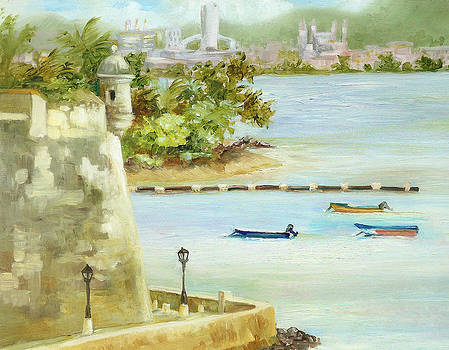 Old and New San Juan by Monica Linville