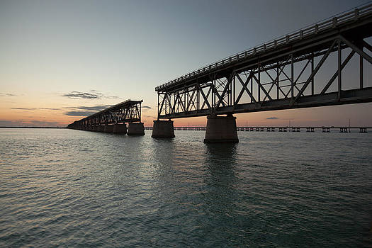 Old Bahia Honda Bridge by Doug McPherson