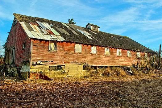 Marv Russell - Old Barn 10 Seen Better Days