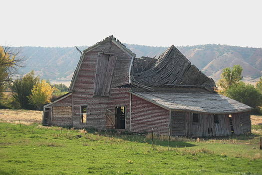 Marv Russell - Old Barn 9 Swayback