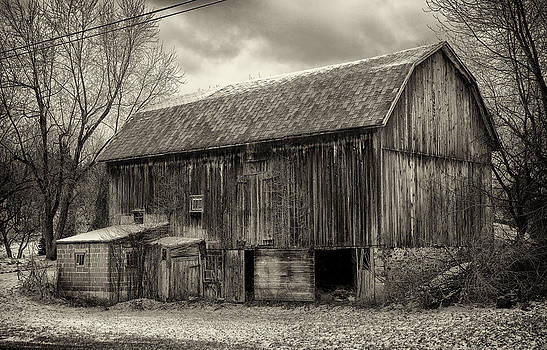 Old Barn Near The Road by Scott Fracasso