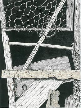 Old Barn by Sara Davenport