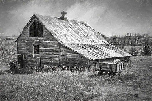 Nikolyn McDonald - Old Nebraska Barn - Wagon