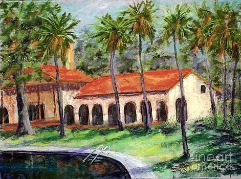 Old Bathouae by Bruce Schrader