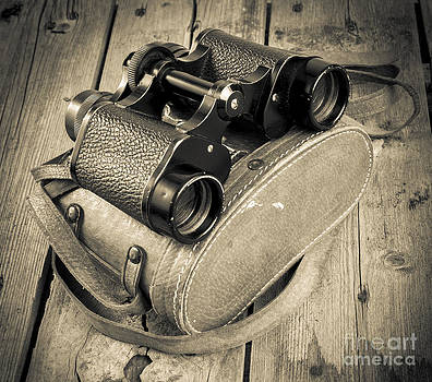 Tim Hester - Old Binoculars Filtered