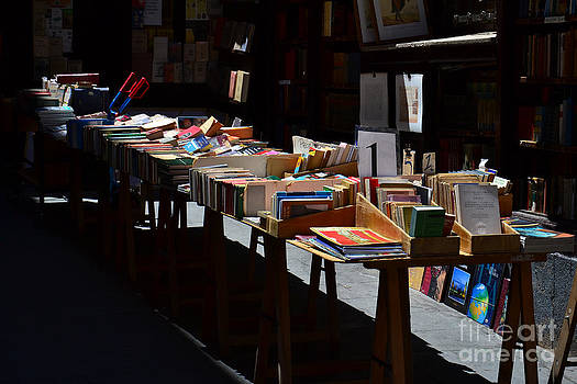 old books in Madrid by Stefano Piccini