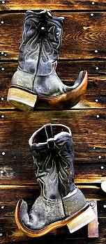 Old Boots oil paint by Patrick Derickson