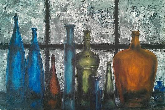Old Bottles by Irine Shotadze