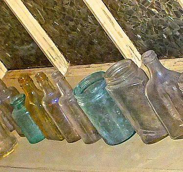 Old bottles by Lesley McCormack