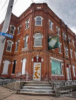 Gregory Dyer - Old Brick Building in downtown Montezuma Iowa - 01