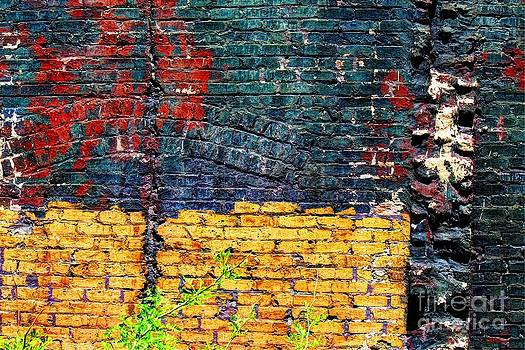 Old brick wall by Jim Wright