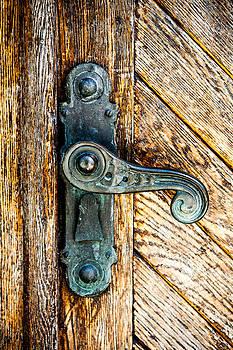 Hakon Soreide - Old Bronze Church Door Handle