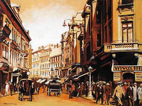 Old Bucharest by Adriana Vasile