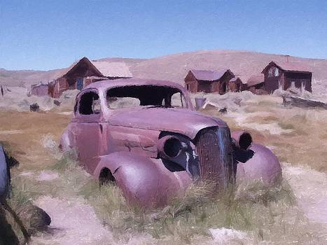 Old Car Bodie California  by Kevin Heaney