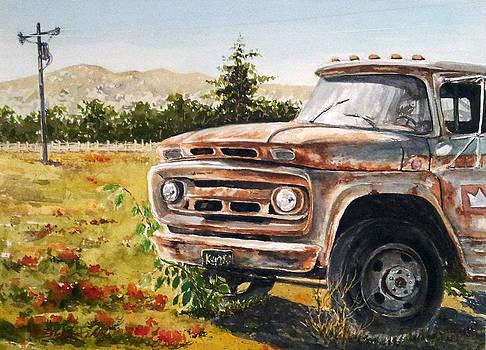 Old Car by Bryan Ahn