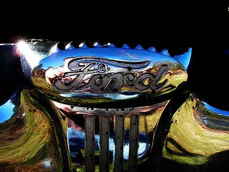 Richard Erickson - old car city ford emblem 4