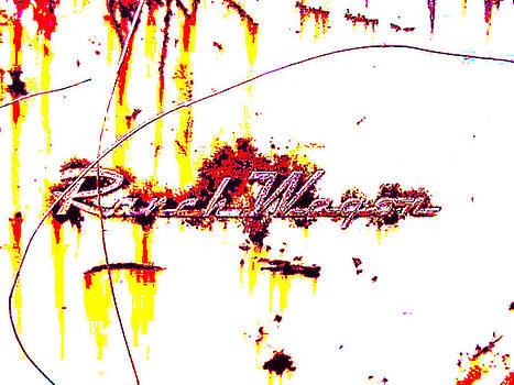 Richard Erickson - old car city Ranch Wagon emblem