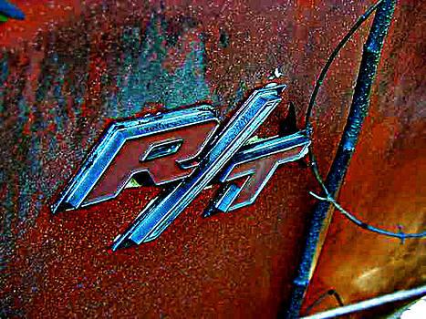 Richard Erickson - old car city RT emblem