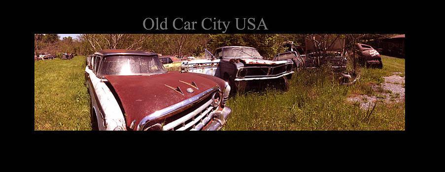 Richard Erickson - Old Car City USA Angle Pan