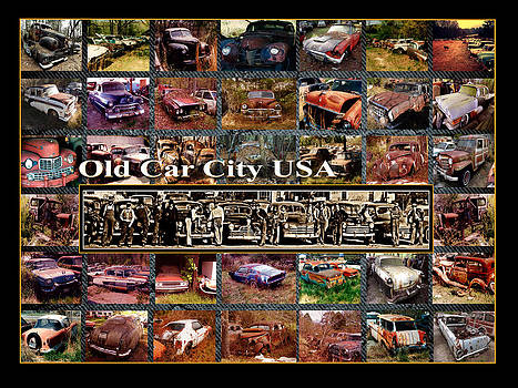 Old Car City USA Back Lot by Richard Erickson