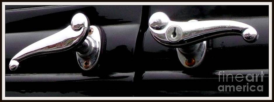 Gail Matthews - Old Car Door Handle Art