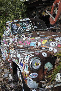 Sophie Vigneault - Old Car in Junk Yard