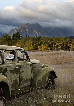 Jill Battaglia - Old Car