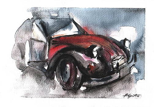 Old car by Nikola Ojdanic