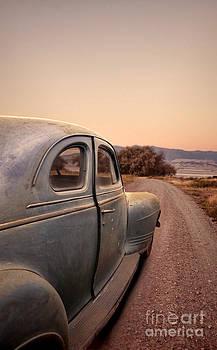 Jill Battaglia - Old Car on a Dirt Road