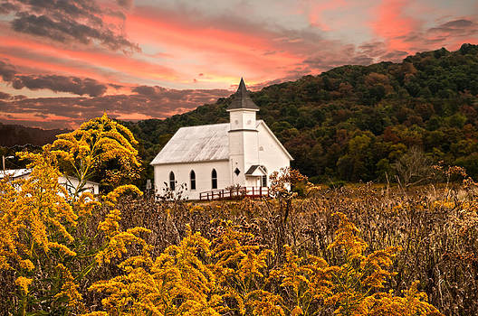 Randall Branham - Old Carmel Ohio Church